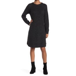 NWT Madewell Curved Hem Sweater Dress